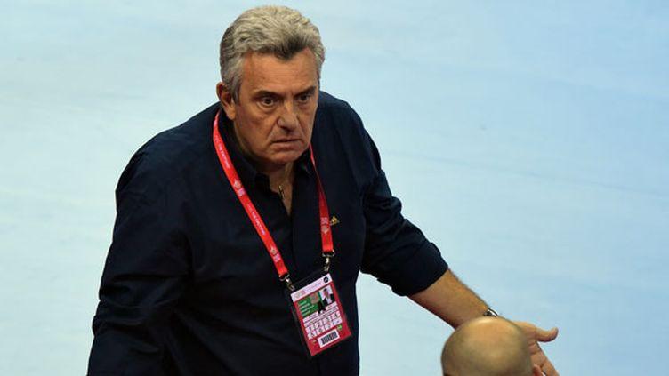 Le sélectionneur de l'équipe de France de handball