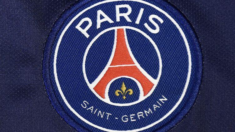 Le logo du Paris Saint-Germain (FRANCK FIFE / AFP)