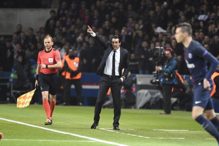 Le PSG d'Unai Emery a rendu une copie parfaite face à Barcelone. (JEAN MARIE HERVIO / DPPI MEDIA)