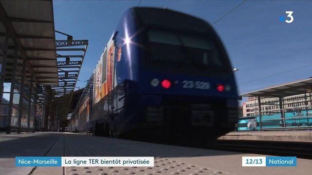 TER Marseille-Nice : la ligne bientôt privatisée par un opérateur privé