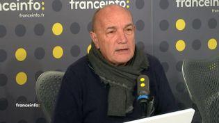 Philippe de Botton, président de Médecins du monde, le 5 mars sur franceinfo. (FRANCEINFO / RADIO FRANCE)