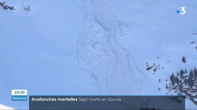 Savoie : sept personnes décédées en raison d'avalanches