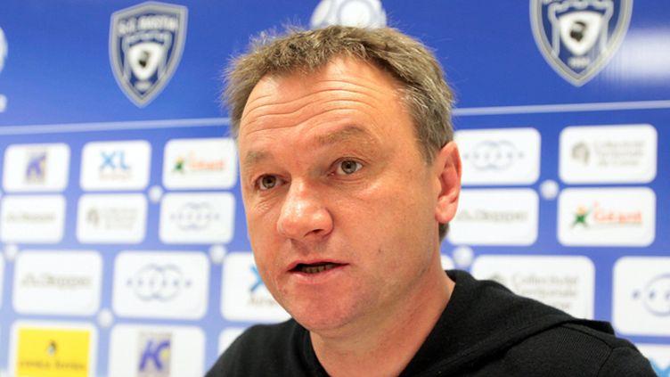 L'entraîneur Frédéric Hantz