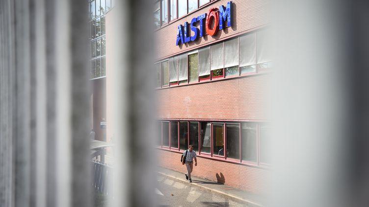 Le site Alstom de Belfort (SEBASTIEN BOZON / AFP)