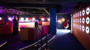 Le Bisous Bisous Club du Palais des Festivals, à Cannes, privé de clients en raison du Covid 19, en mai 2020. (SYSPEO/SIPA)