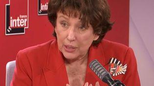 La ministre de la Culture, Roselyne Bachelot est l'invitée de France Inter le 9 juillet 2020. (FRANCEINTER / RADIOFRANCE)