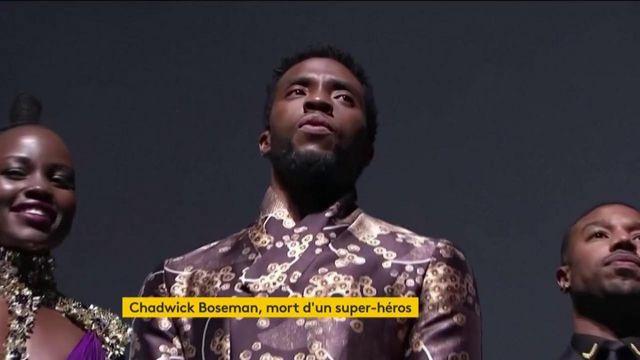Chadwick Boseman mort