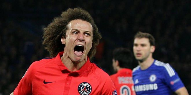 David Luiz vient d'égaliser pour le PSG