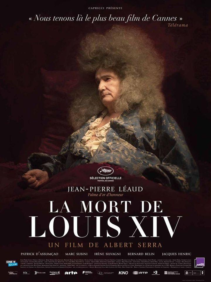 """""""La Mort de Louis XIV"""" : l'affiche  (Capricci Films)"""