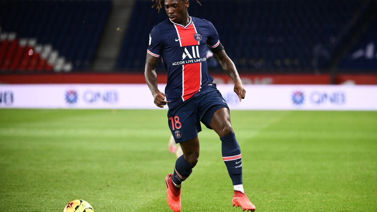 Kean va manquer les prochaines rencontres de Ligue 1 (FRANCK FIFE / AFP)