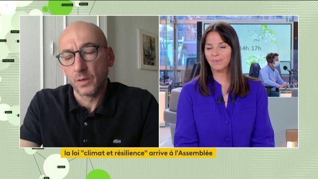 Forte mobilisation pour une «vraie loi climat» - Sylvain Burquier interview