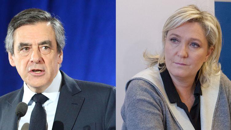 Fillon le Pen  (AFP)