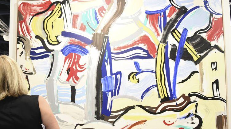 Une toile de Roy Lichtenstein à Art Basel Miami, décembre 2015  (Daniel Zuchnik / GETTY IMAGES NORTH AMERICA / AFP)