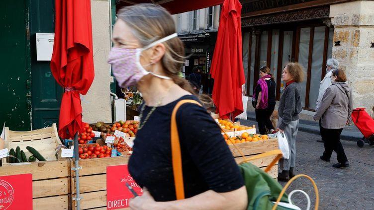 FFP2, FFP3, masque en tissus : le niveau de protection du masque dépend de son type. (FRANCOIS GUILLOT / AFP)