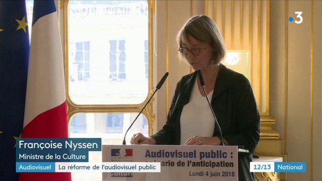Réforme de l'audiovisuel : Françoise Nyssen dévoile les premières orientations