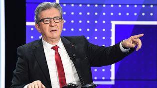 Jean-Luc Mélenchon, leader La France insoumise, le 23 septembre 2021. (BERTRAND GUAY / POOL)
