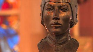 Exposition Jeanne d'Arc à Rouen (France 3 Normandie)