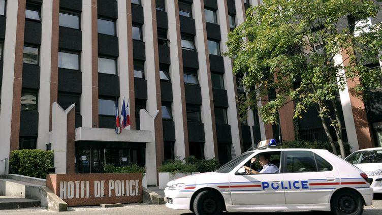 L'hôtel de police de Lyon (Rhône) où travaillait Michel Neyret, le 6 octobre 2011. (PHILIPPE DESMAZES / AFP)