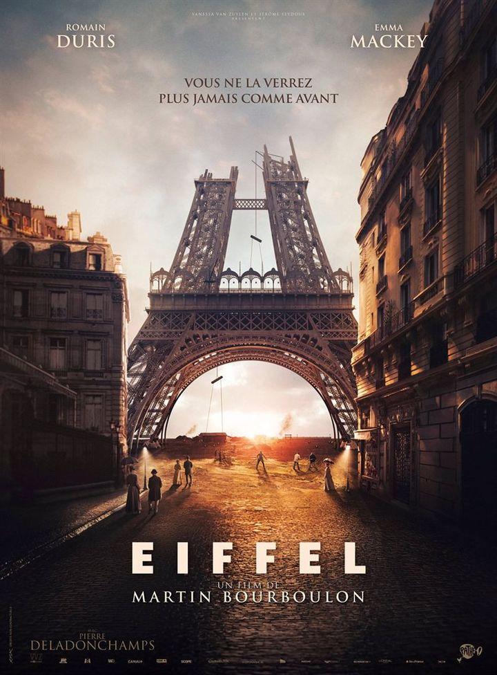 """Affiche du film """"Eiffel"""", sortie prévue le 5 mai 2021 (PATHÉ)"""