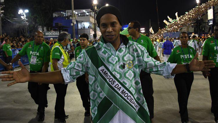 La star brésilienne Ronaldinho (VANDERLEI ALMEIDA / AFP)