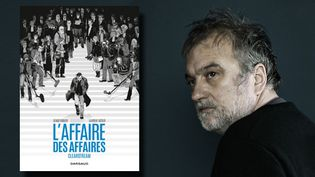 Le journaliste Denis Robert  (AURELIE LAMACHERE/SIPA)