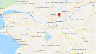 Université de Nantes, Campus du Tertre. (GOOGLE MAPS)