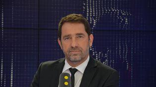 Christophe Castaner, délégué général de La République en marche et secrétaire d'Etat chargé des relations avec le Parlement. (JEAN-CHRISTOPHE BOURDILLAT / RADIO FRANCE)