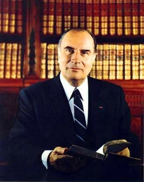 François Mitterrand  (Gisèle Freund)