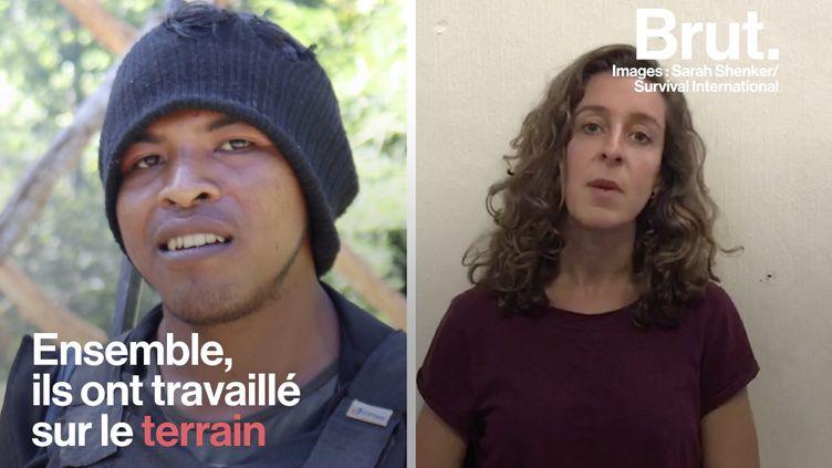 """VIDEO. """"Paulo était tellement déterminé"""" : une proche du militant autochtone assassiné témoigne (BRUT)"""