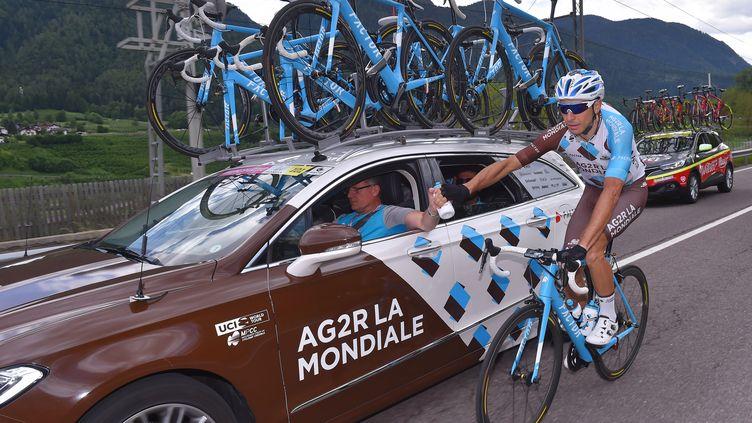 Alexandre Geniez a été exclu de la Vuelta, au même titre que son coéquipier Nico Denz. (DE WAELE TIM / TDWSPORT SARL)