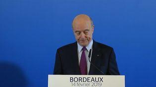 Alain Juppé annonce son départ de la mairie de Bordeaux le 14 février 2019 (CAPTURE D'ÉCRAN FRANCE 2)