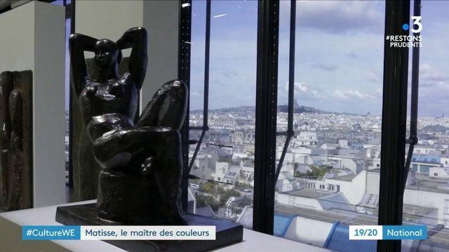 Culture : le centre Pompidou célèbre les 150 ans d'Henri Matisse