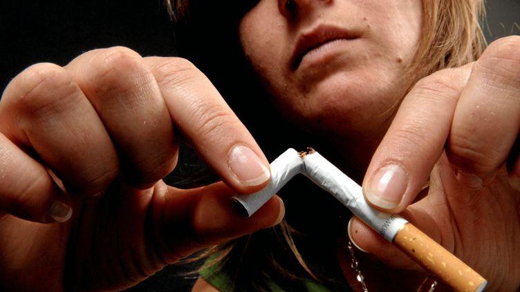Journée mondiale sans tabac. (SYLVIE CAMBON / MAXPPP)