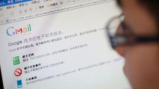 Les utilisateurs chinois de Gmail n'ont pas pu accéder à leur messagerie le lundi 29 décembre 2014. (ZHOU JUNXIANG / IMAGINECHINA / AFP)