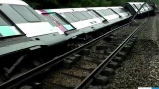 Déraillement RER B, Essonne, juin 2018. (FRANCE 3)