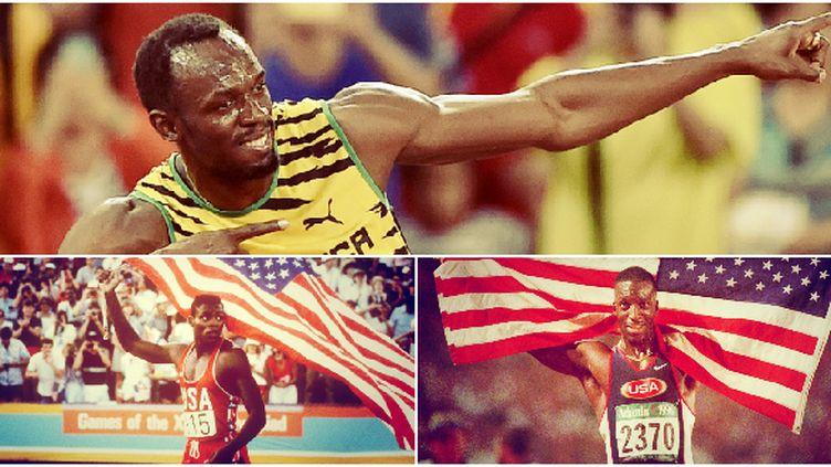 Avec 9 titres Usain Bolt a dépassé deux autres légendes de l'athlétisme