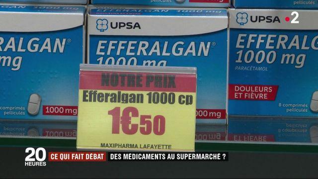 Santé : des médicaments en vente au supermarché ?