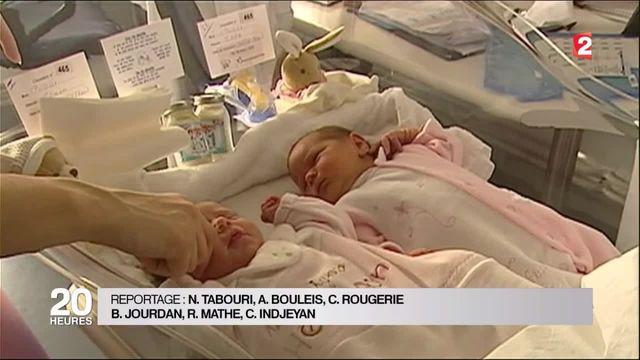 Naissance : les jumeaux se multiplient depuis 40 ans