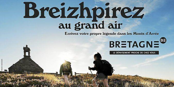 L'un des visuels de la campagne de promotion de la Bretagne pour attirer les touristes (Conseil régional de Bretagne)