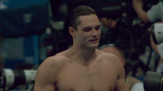 """""""Je suis fier de moi.""""En larmes, Florent Manaudou revient sur le parcours qui l'a mené à la médaille d'argent olympique, sa troisième consécutive sur 50 m nage libre."""