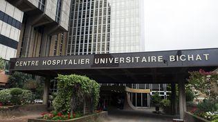 L'hôpital Bichat, à Paris. (FRED DUFOUR / AFP)