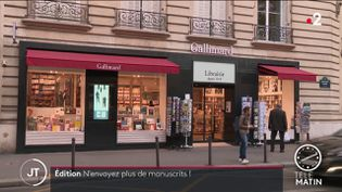 La librairie Gallimard à Paris. (France 2)