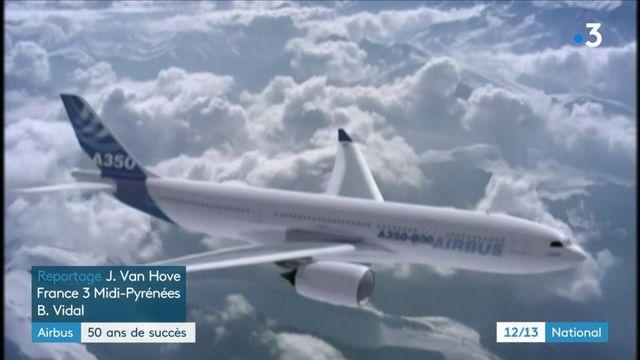 Airbus : le géant de l'aviation fête ses 50 ans