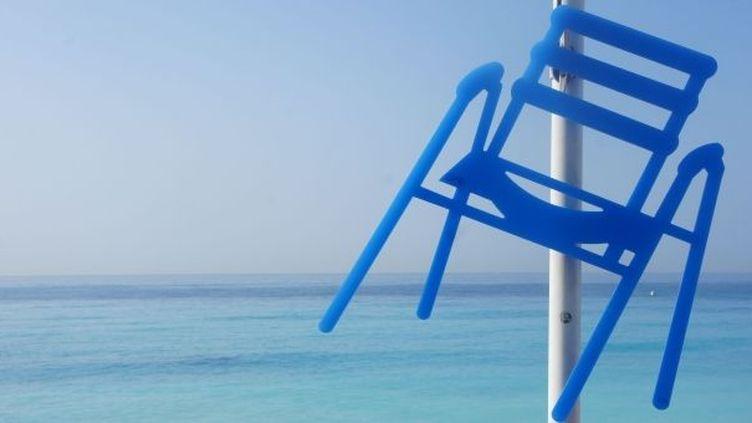La Chaise Bleue nicoise selon Sabine  (Sabine Géraudie)