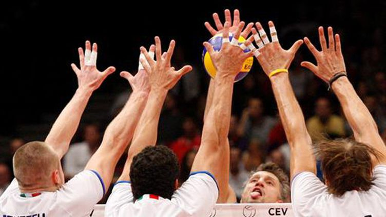 Le volley-ball (DIETER NAGL / AFP)