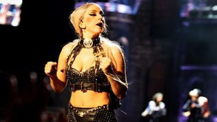 Lady Gaga en concert, le 7 mai, à Hong kong (Chine)  (Li Lewei. AFP)