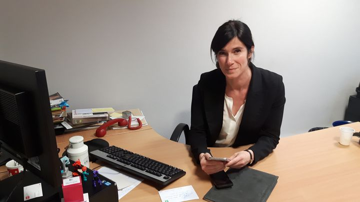 Vanessa Charbonneau, proche collaboratrice de François Fillon depuis 10 ans. (ALICE SERRANO / RADIO FRANCE)