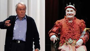 """Robert Hisch, """"Le Père"""" (Paris, 17/9/2012) ; Michel Bouquet, """"Le Roi se Meurt"""" (Paris 5/9/2012)  (Raymond Delalande / Sipa)"""