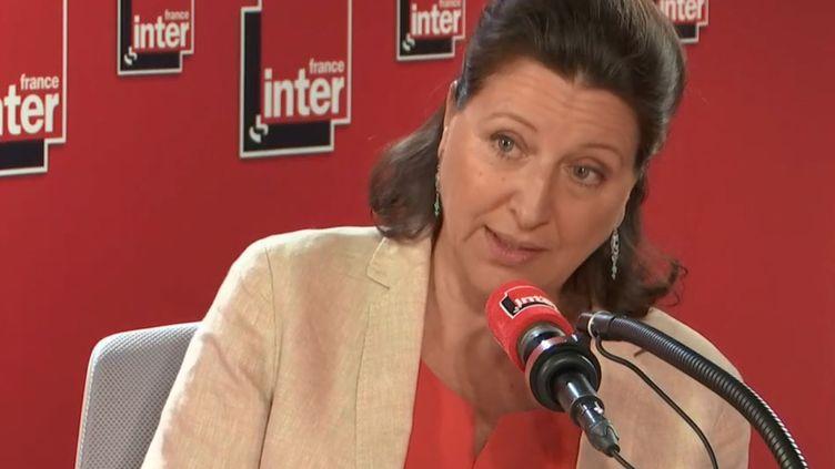 Agnès Buzyn était l'invitée de France Inter mercredi 24 juillet. (FRANCE INTER)