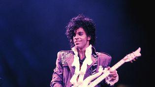 Prince sur le Purple Rain Tour en septembre 1984.  (Richard E.Aaron / Redferns / Getty Images)